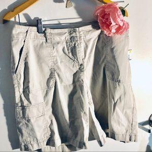 J Jill cargo shorts